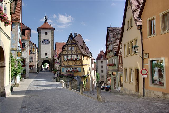 Destination Germany: Rothenburg ob der Tauber