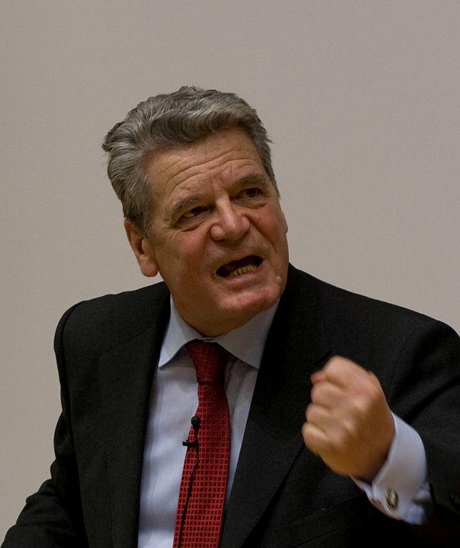 President Gauck will boycott the Winter Olympics in Russia