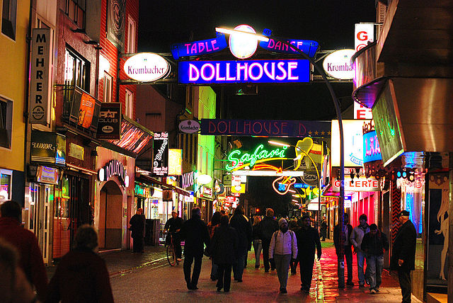 Reeperbahn, the most sinful mile