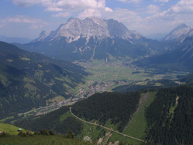 Zugspitze from afar