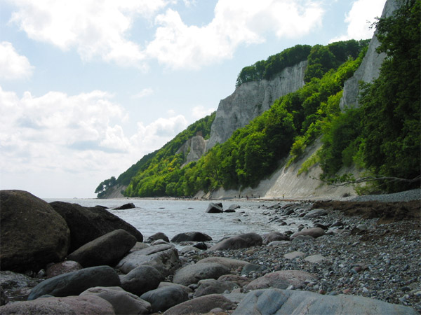 The iconic cliff beaches of Rügen