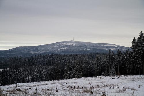 The enchanted Brocken mountain