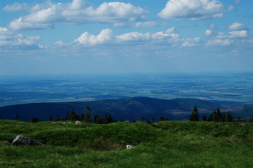 View from the top of the Brocken