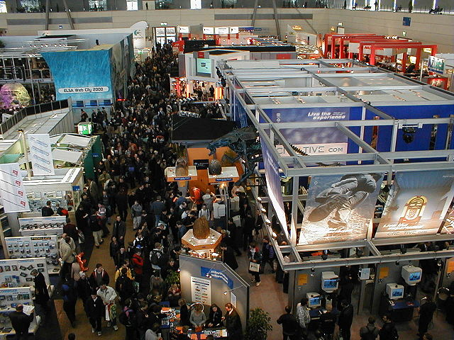 Almost half a million attend CeBIT each year.