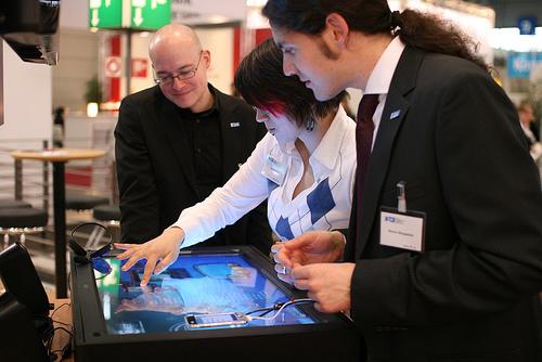 CeBIT showcasing new technologies.