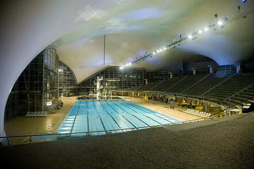 Want to swim in a Olympic sized swimming pool?
