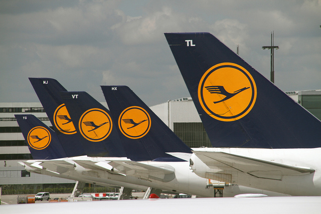 Lufthansa pilots prepares for an upcoming strike.