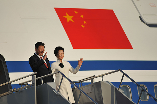 President Xi Jinping arrives in Germany.