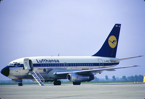 Lufthansa pilots strike from April 2nd-April 4th.
