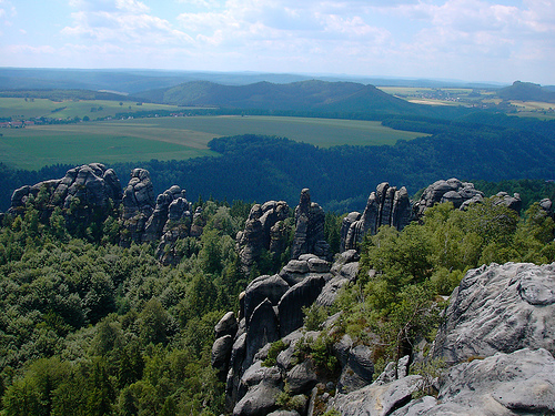 Saxon Switzerland.