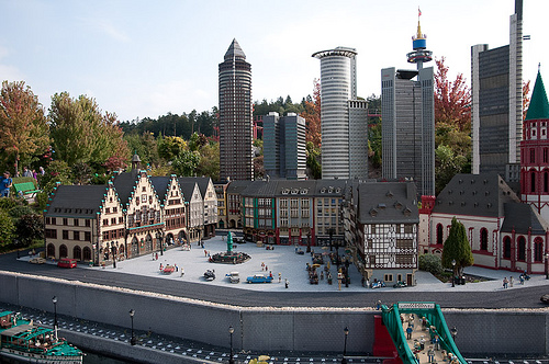 Mini Frankfurt at LEGOLAND.