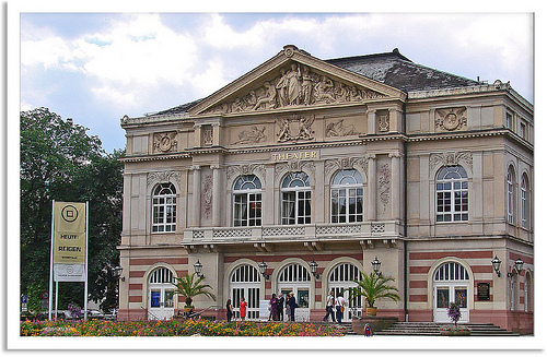 The theater in Baden-Baden.