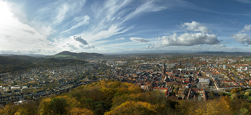 Freiburg in the Black Forest.