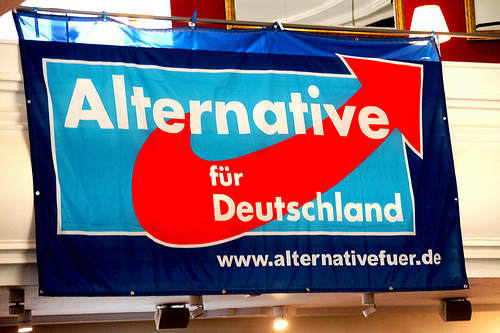 The AfD is upset at being called Germany's Tea Party.