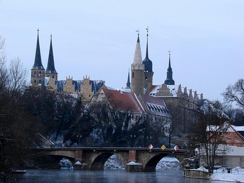 Merseburg Cathedral.