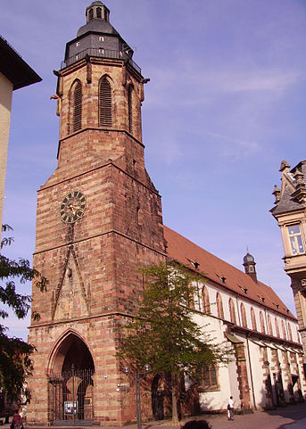 Historic Abby in Landau.