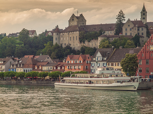 Meersburg on Lake Constance.