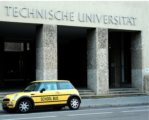 Munich TU to teach master's courses in English.