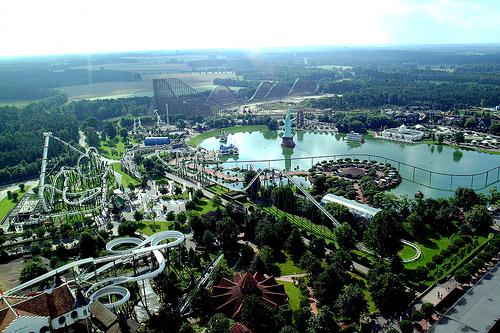 Heide Park Resort in Soltau, Germany.