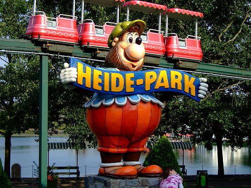 Lots of kids fun in Heide Park.