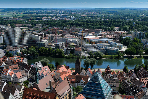 The city of Ulm.