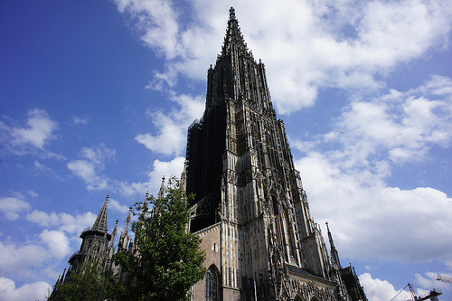 Tallest church in the world, Ulm Minster.