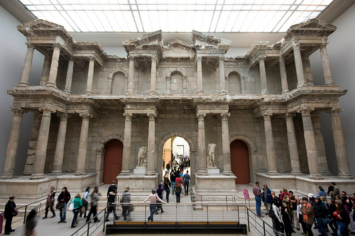 The Pergamon Museum displays wonders of the middle east.