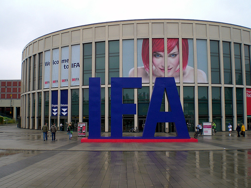 Berlin's consumer electronics fair, IFA.