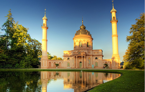 Mosque at Schwetzingen Palace.