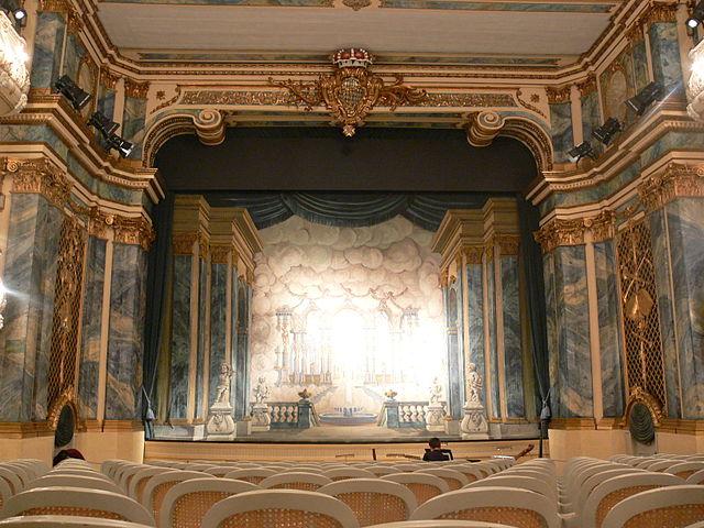 Schwetzingen Theater.