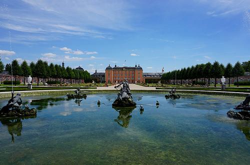 Schwetzingen Palace.