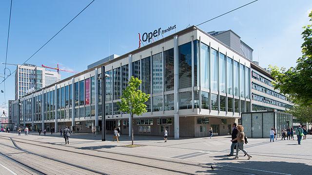 Frankfurt's current opera house.