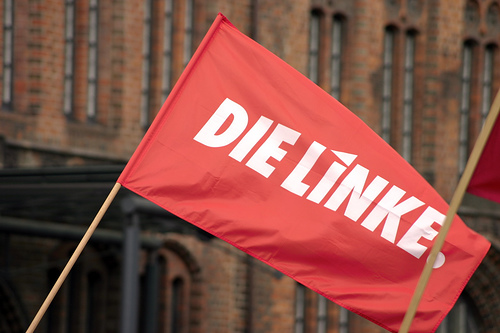 Die Linke heads Red-Red-Green coalition in Thuringia.
