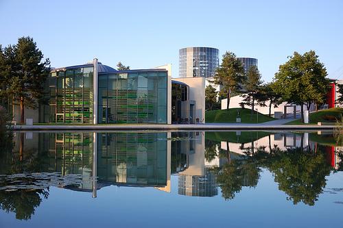 Autostadt, Volkswagen's car city in Wolfsburg.