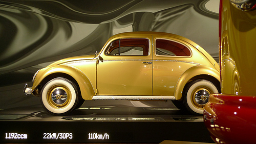 The auto museum of Autostadt has new cars as well as classics.