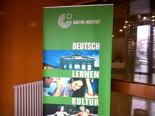 "Goethe Institute looks at the German language in ""German 3.0"""