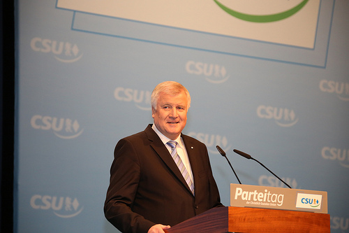CSU Horst Seehofer says the language plans need more work.