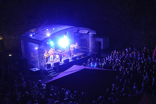 Concert at Ehrenbreitstein Fortress.