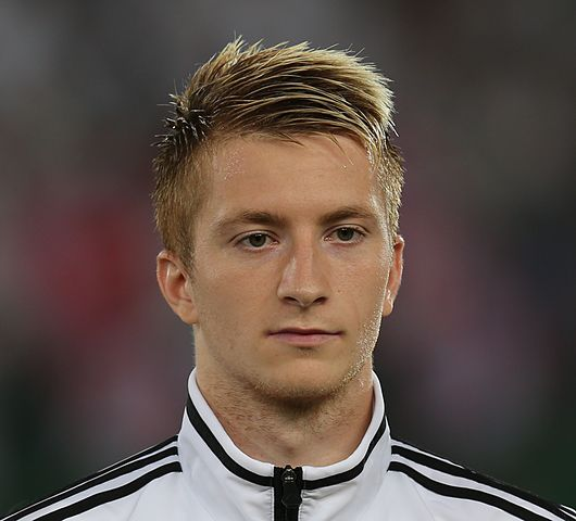Marco Reus in trouble after being caught driving without a license.