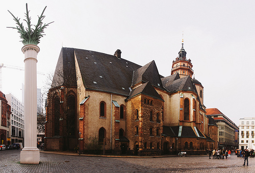 St. Nicolas Church in Leipzig.