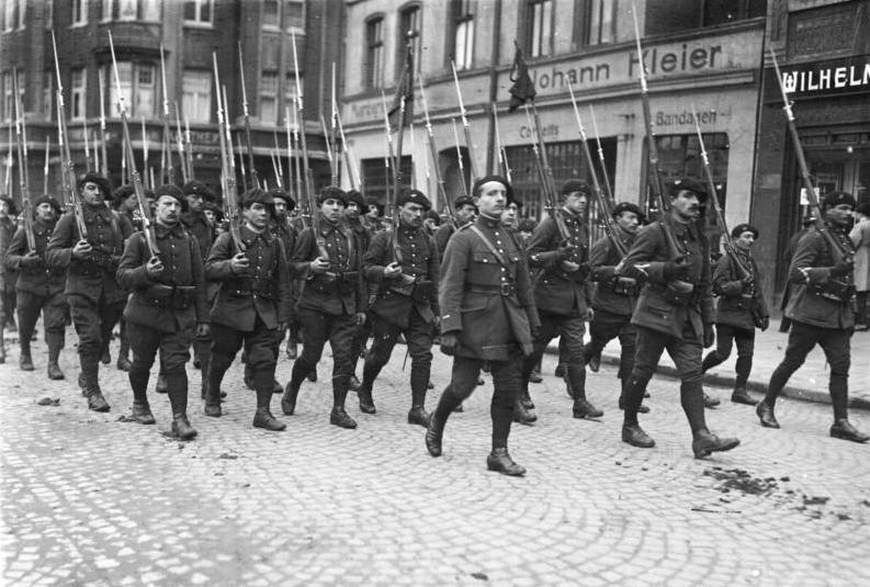 This week in 1920, France occupied part of Germany.