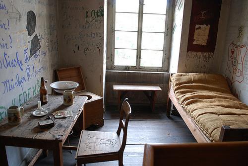 Preserved karzer cell in Göttingen.