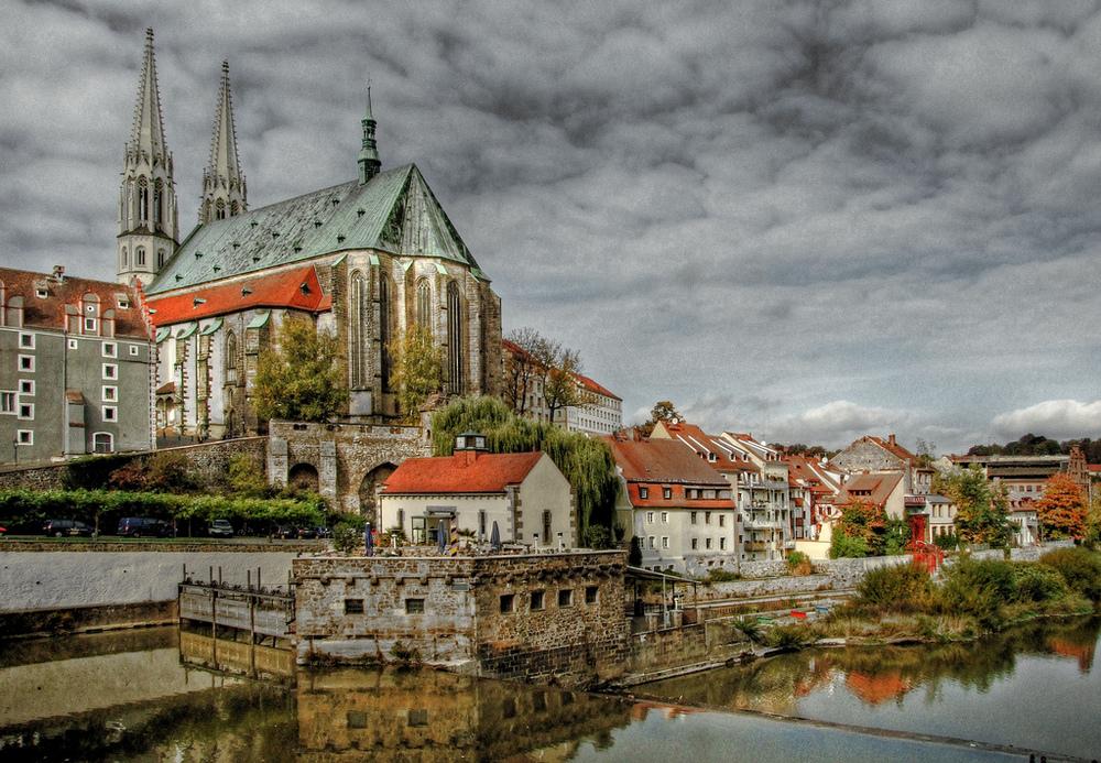 City shot of Görlitz