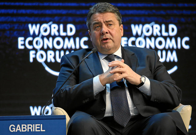 Sigmar Gabriel, Minister for Economic Affairs and Energy and Vice Chancellor