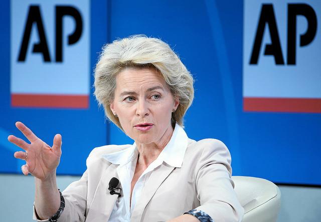 Defence Minister Ursula von der Leyen
