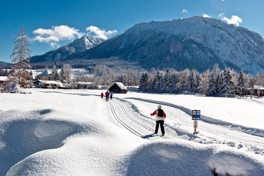 Find wonderful cross country trails in Chiemgau.
