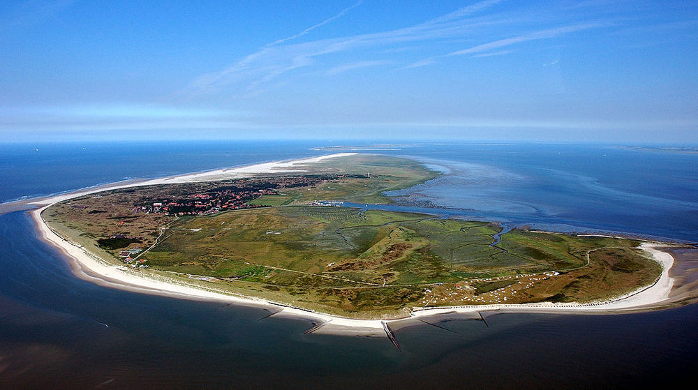 Spiekeroog: One of the most popular of the East Frisian Islands.