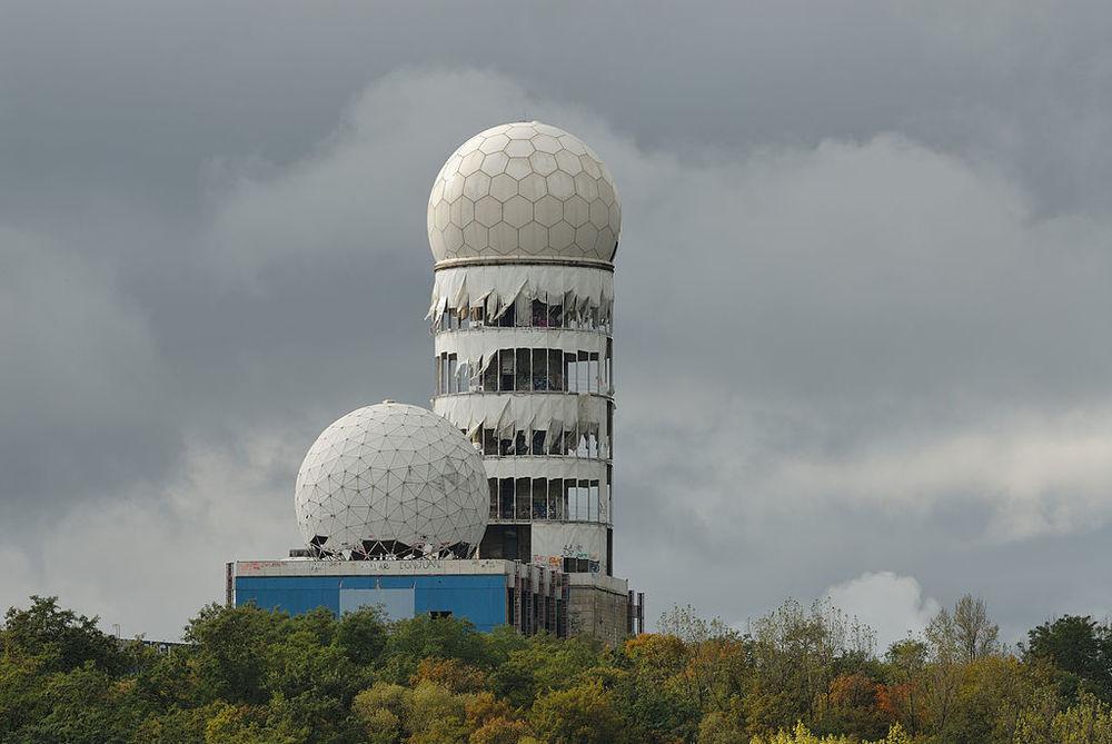 Teufelsberg listening station, Grunewald.