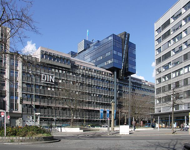 DIN's headquarters in Berlin. Image:  Standardizer / Wikimedia