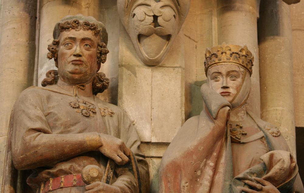 Ekkehard II and Countess Uta